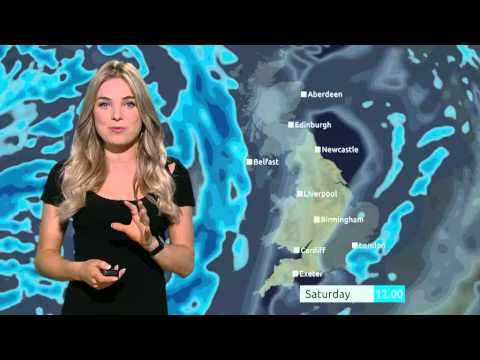 Weekend Weather: Storm force winds on their way