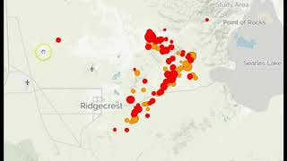 Large Earthquake Swarm Follows M6.4 That Hit Within Sprawling Weapons Testing Range