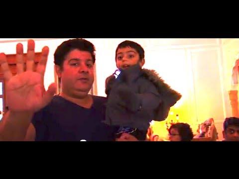 Kajol & Ajay's son Yug on Himmatwala sets I Day 73 - 74 I Behind the scenes