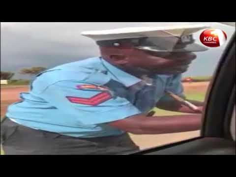 Kenyans demand arrest of police caught soliciting for bribe