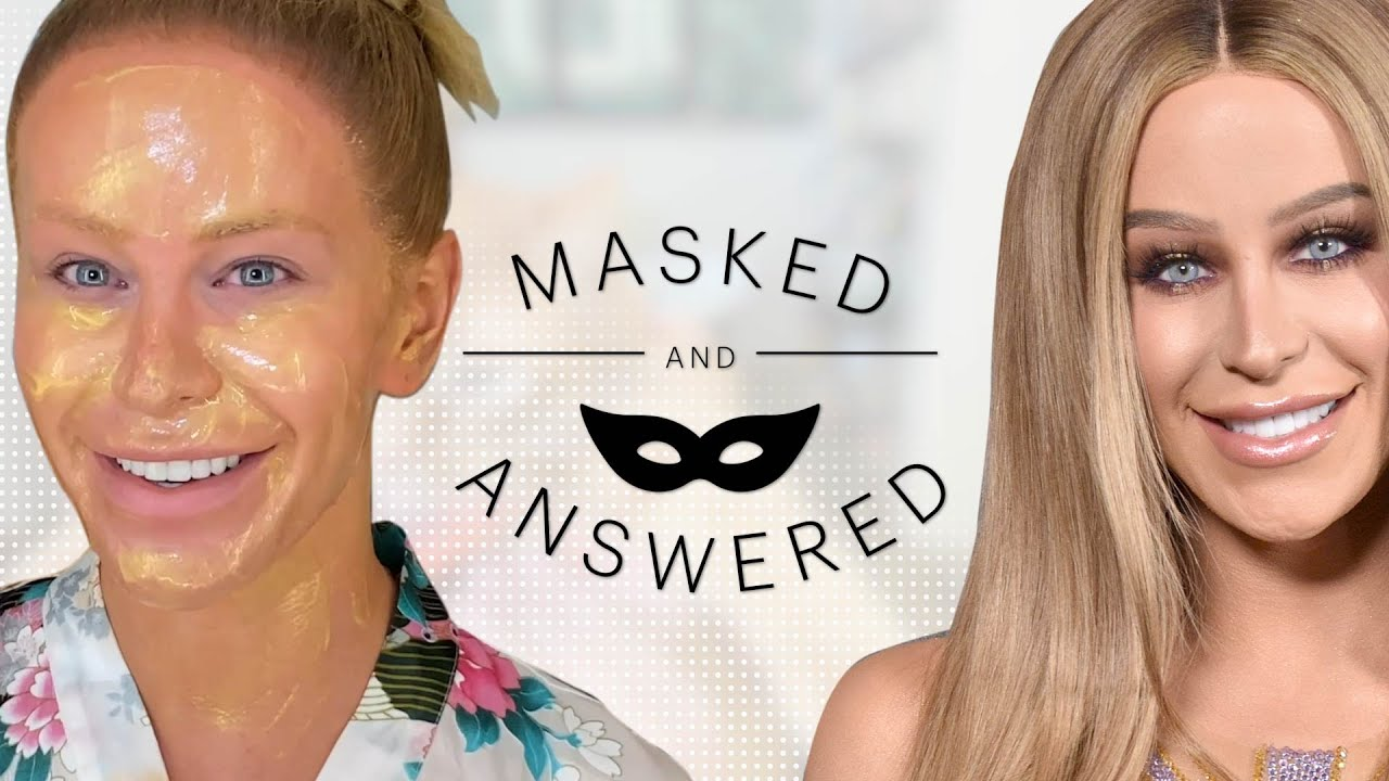 Gigi Gorgeous Face-Masks and Reveals Her Beauty Secrets | Masked and Answered | Marie Claire