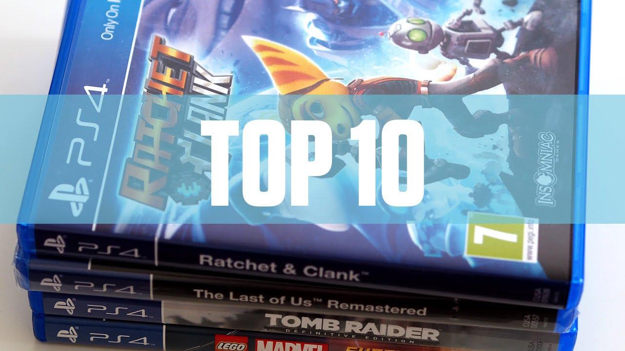 Top 10 Mejores Juegos Exclusivos Ps4 2016 Youtube