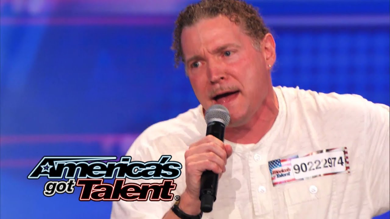 Schön Donnie Valentine: Singer Hits High Note With Judges   Americau0027s Got Talent  2014 (Highlight)