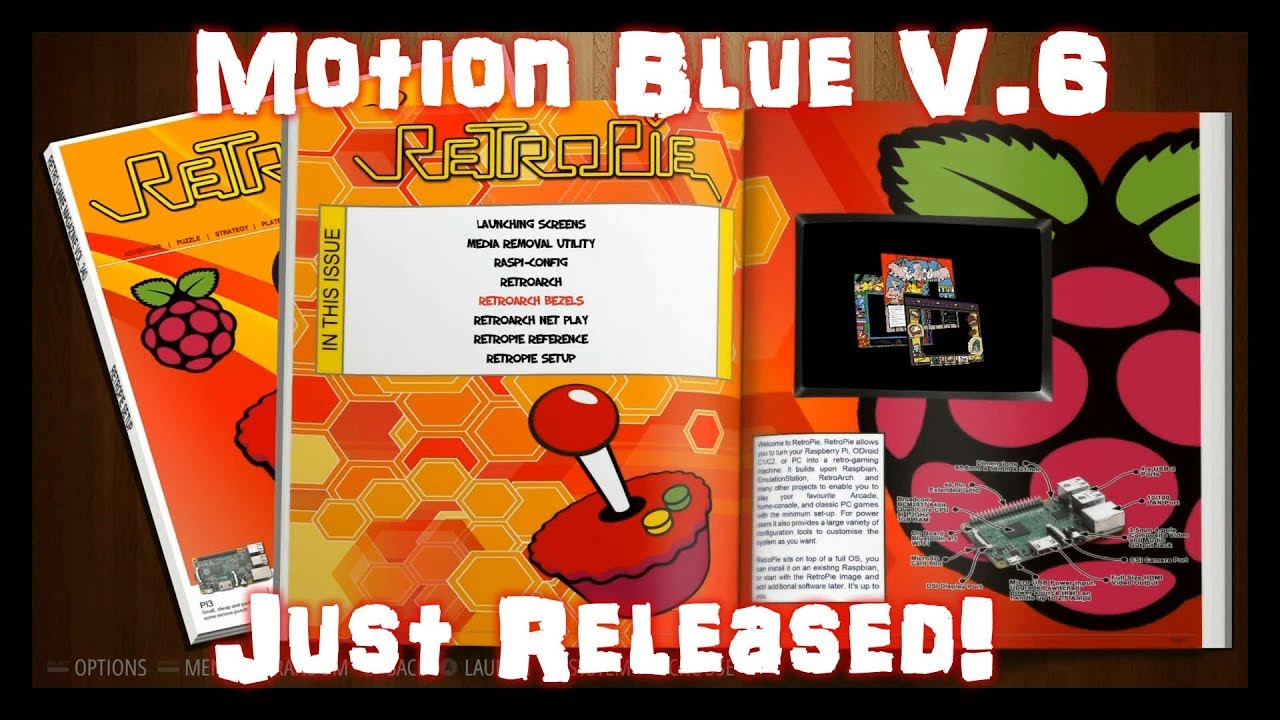 Motion Blue Version 6 Pi 3 JUST RELEASED! : LightTube