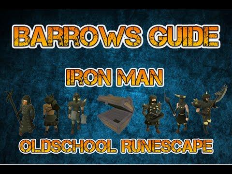 Oldschool Runescape Ironman Barrows Guide (In-Depth)