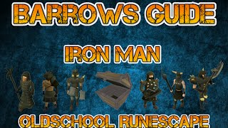 Hey there everyone, welcome to my Ironman Barrows guide! Table of c...