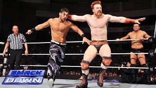 Sheamus & Dolph Ziggler vs. Fandango & The Miz: SmackDown, July 18, 2014