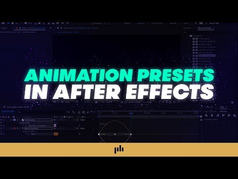 Video Tutorial: Harness the Power of Presets in Adobe After Effects