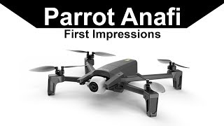Parrot Anafi First Impressions and Tests - Parrot Anafi vs Dji Mavic Air Feature Comparison
