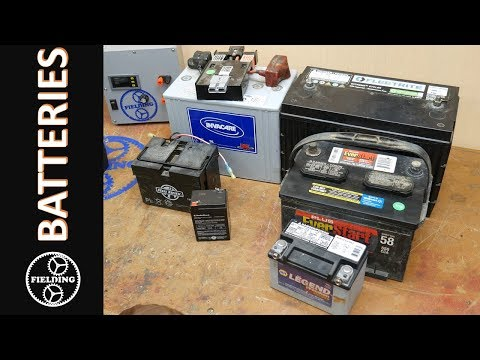 Introduction To Battery Types And Reading The Labels For Use In A Electric Go Kart Or Bike.#062