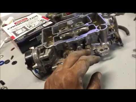 How to Rebuild a Carburetor (Edelbrock) Part 2