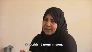 "Mayada, 48: ""I'm numb"" - BOMBED Exhibition"