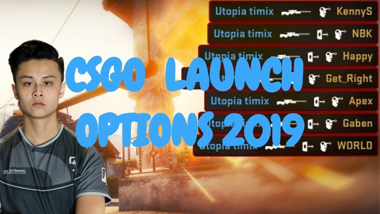 BEST! CSGO LAUNCH OPTIONS 2019 (MAX FPS & PERFORMANCE)