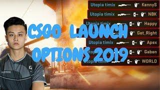 BEST! CSGO LAUNCH OPTIONS 2019 (MAX FPS & PERFORMANCE)
