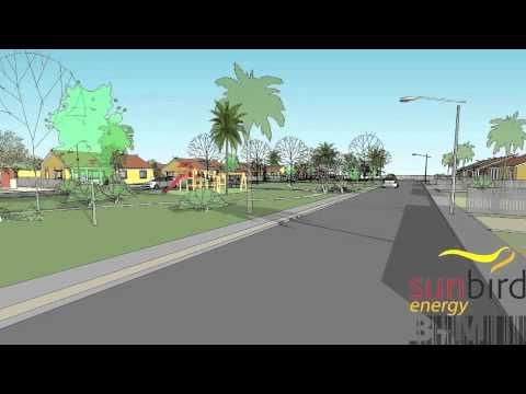 Sunbird energy solar housing scheme Nigeria