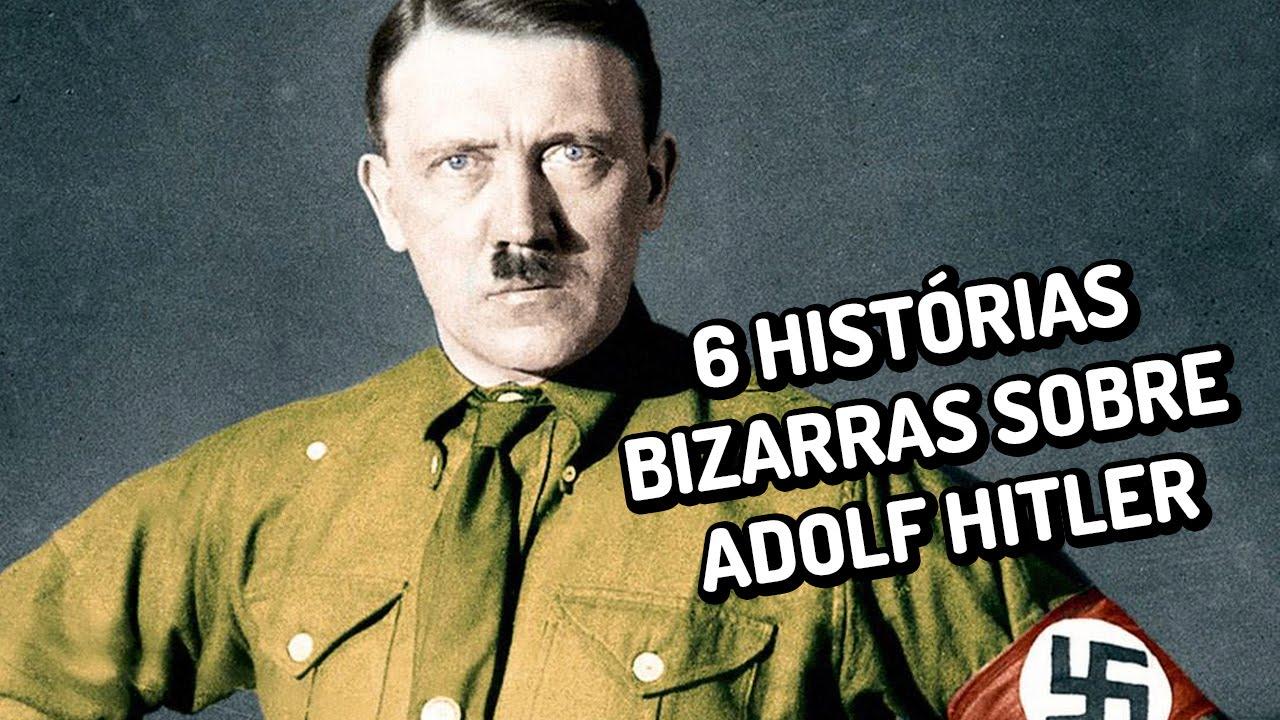 6 histórias bizarras sobre Adolf Hitler