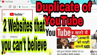 Copy of YouTube.com | 2 Websites that You Can't Believe | Ruclip.com |silverXLight