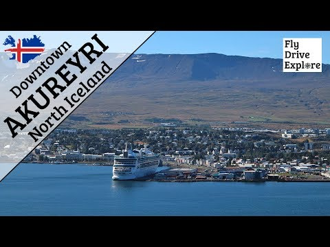Downtown Akureyri - North Iceland