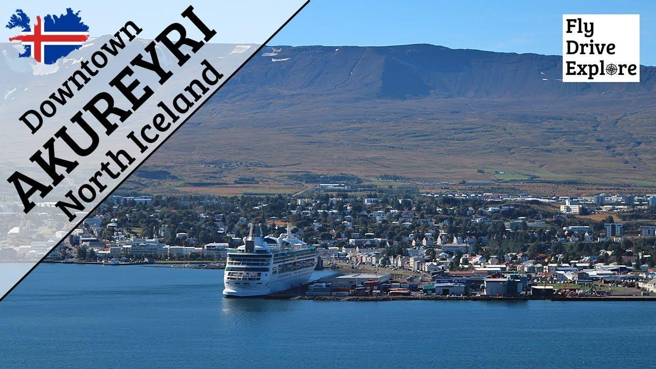 Downtown Akureyri - North Iceland