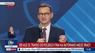 Konferencja Premiera Mateusza Morawieckiego - 22 czerwca 2020 r.
