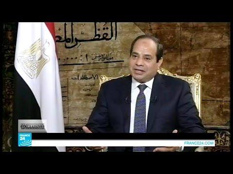 """حوار الرئيس عبد الفتاح السيسى لـ """" France 24 """""""