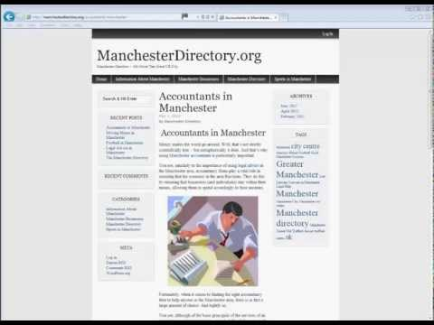 Manchester Accountants - How They Can Help You