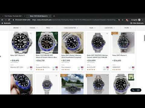 Rolex Blnr Market Overview