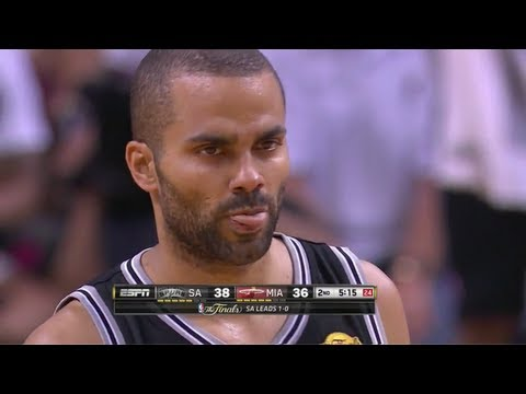 Tony Parker Full Highlights @ Miami Heat - NBA Finals Game 1 - 06/06/2013
