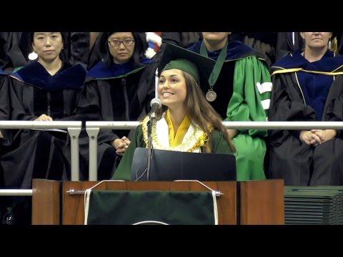 UH Manoa commencement student speaker Catherine Brianne Gardiner