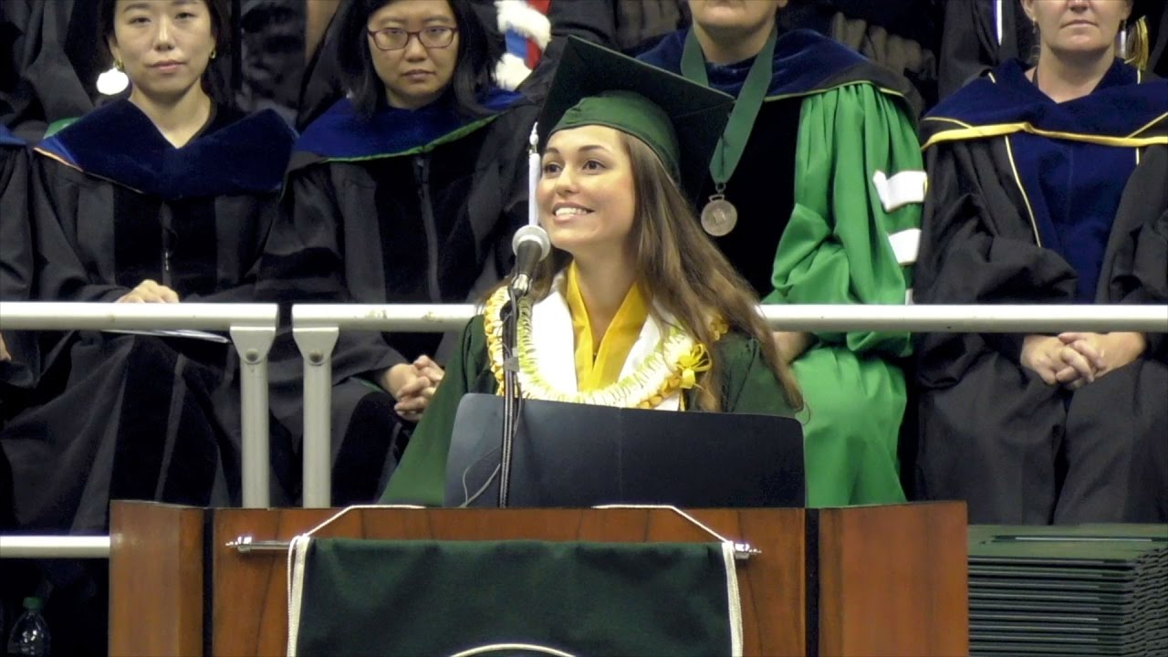 Uh Graduation 2020.Uh Manoa Commencement Student Speaker Catherine Brianne Gardiner