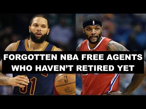 10 Most Forgotten NBA Free Agents Who Haven't Officially Retired Yet