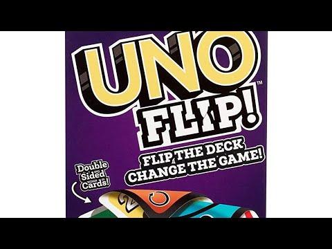 cdf9e78b48ff Uno Flip Card Game - YouTube