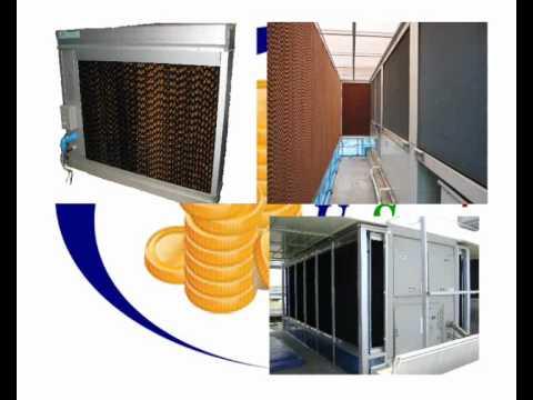 Evap,ระบบEvap,Evaporative,U-SavePlus,EvaporativePre-coolerSystem