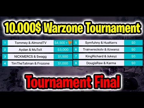 Warzone Doritos Distuptor Series Final :Teeps Trials Tournament - Call Of Duty Warzone Tournament