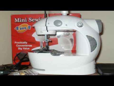 Mini Sewing Machine. Что делать, если швейная машинка не цепляет нижнюю нить?