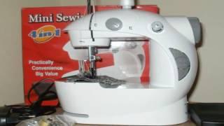 видео Машинка для шитья leomax