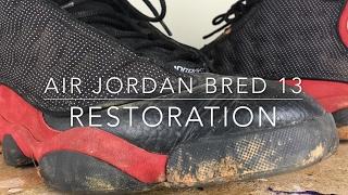 Air Jordan Bred 13 Restoration