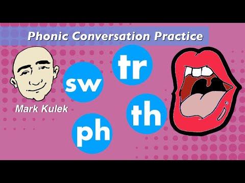 Pelafalan Pelafalan Phonic - Ph, Tr, Th, Sw   American Sounds Pronunciation - ESL
