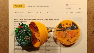 Why Fluke are recalling their SM100/200/300 plug-in testers.