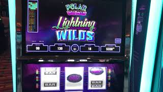 """""""Polar High Roller Lighting Wilds""""  VGT Slots Red Win Spins Choctaw Gaming Casino, Durant, OK"""