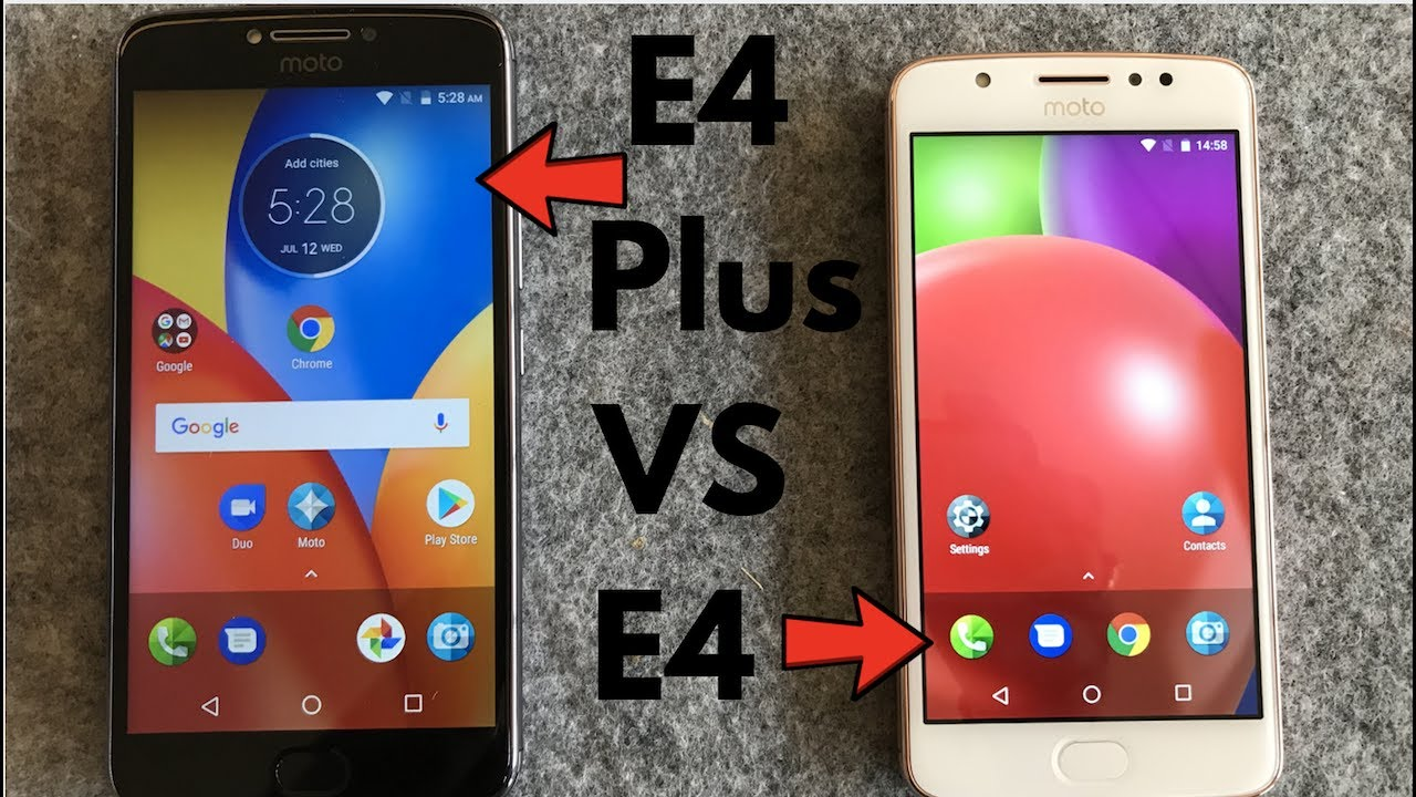 Moto E4 Plus VS Moto E4 Comparison Review, Which One Is Good For You | Gadgets To Use - YouTube