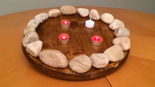 Diy - Indoor Fire Ring / Pit - For Cub Scout Meetings And Gatherings
