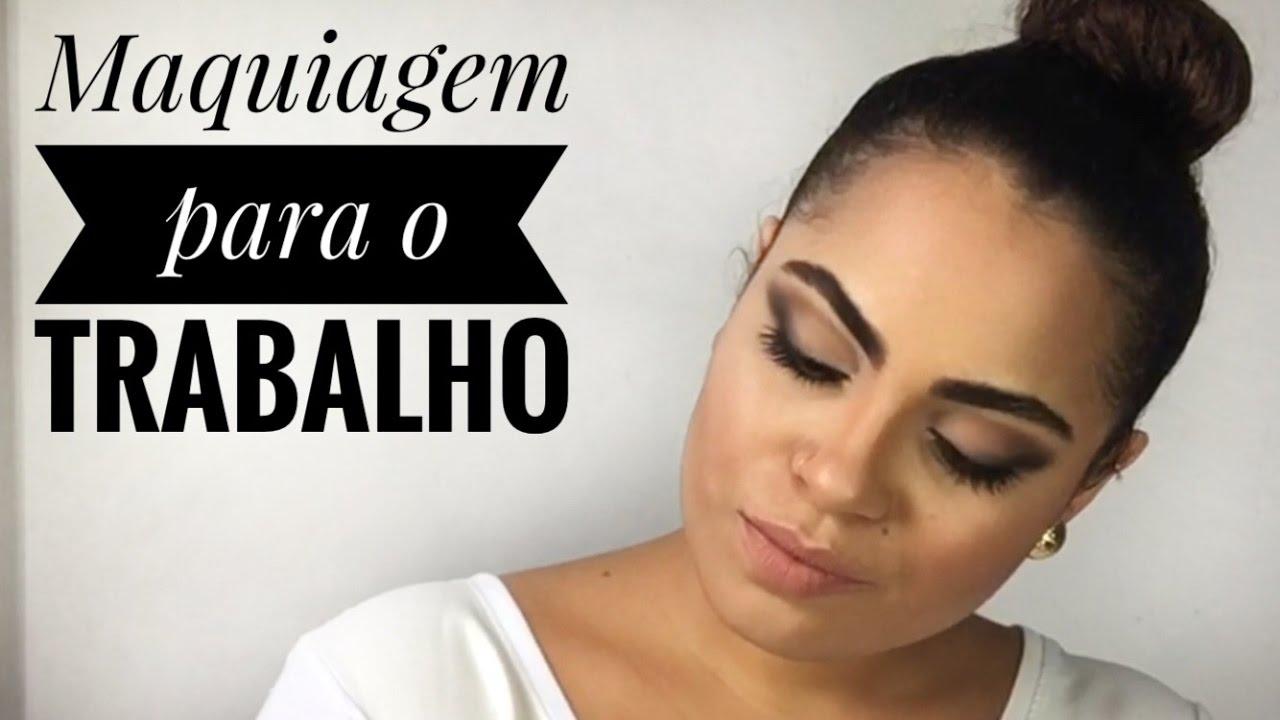 Maquiagem para o trabalho reunião por Larissa Santana - YouTube 6ec3f5a3a4