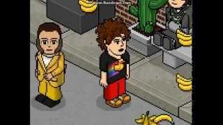 Eet veel bananen - Zanger Rinus & Ronnie Ruysdael ft. Debora (Habbo Versie)