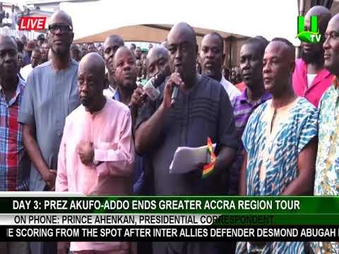 DAY 3: Prez. Akufo-Addo ends Greater Accra Region Tour