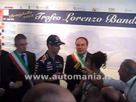 Daniel Ricciardo Trofeo Lorenzo Bandini 2014