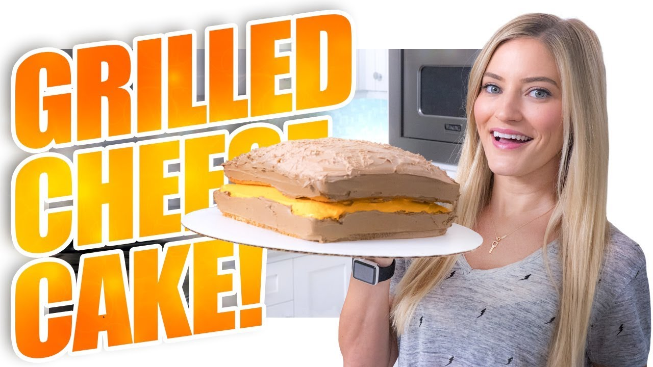 How to make a Grilled Cheese Cake!