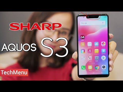 Mở hộp Sharp Aquos S3: Quá đẹp so với quy định! || TechMenu || TECHMAG