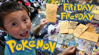 OPENING SUPER RARE BOOSTER PACKS FILLED WITH ULTRA RARES & VINTAGE POKEMON CARDS! Friday Freeday #71