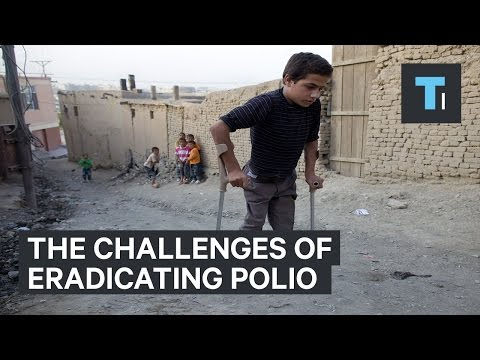 The challenges of eradicating Polio